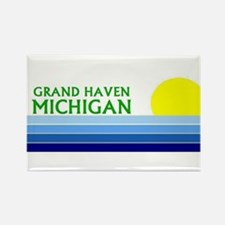 Cool South haven michigan lighthouse Rectangle Magnet