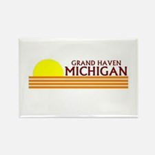 Funny Grand rapids Rectangle Magnet