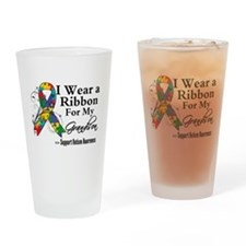 Grandson - Autism Ribbon Pint Glass