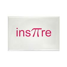 "Original Pink Ins""Pi""re Rectangle Magnet"