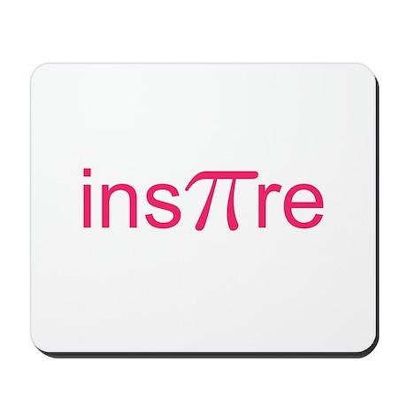 """Original Pink Ins""""Pi""""re Mousepad"""