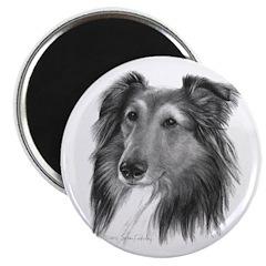 """Shetland Sheepdog (Sheltie) 2.25"""" Magnet (100 pack"""