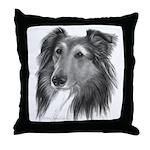 Shetland Sheepdog (Sheltie) Throw Pillow