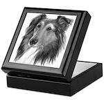 Shetland Sheepdog (Sheltie) Keepsake Box