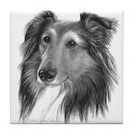 Shetland Sheepdog (Sheltie) Tile Coaster