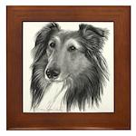 Shetland Sheepdog (Sheltie) Framed Tile