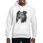 Shetland Sheepdog (Sheltie) Hooded Sweatshirt