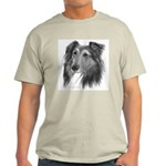 Shetland Sheepdog (Sheltie) Ash Grey T-Shirt