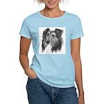 Shetland Sheepdog (Sheltie) Women's Pink T-Shirt