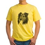 Shetland Sheepdog (Sheltie) Yellow T-Shirt