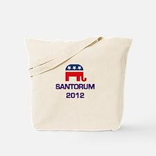 Santorum 2012 Tote Bag