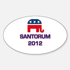 Santorum 2012 Decal