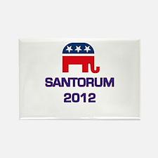 Santorum 2012 Rectangle Magnet
