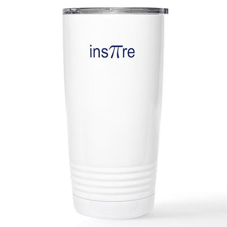 "Original Blue Ins""Pi""re Stainless Steel Travel Mug"