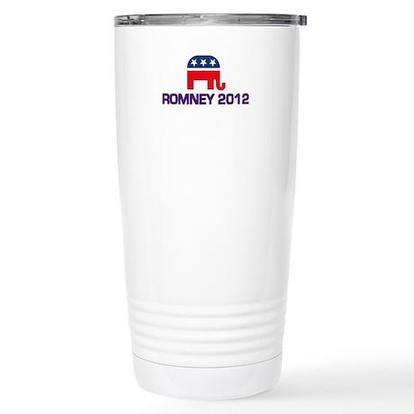 Romney 2012 Stainless Steel Travel Mug