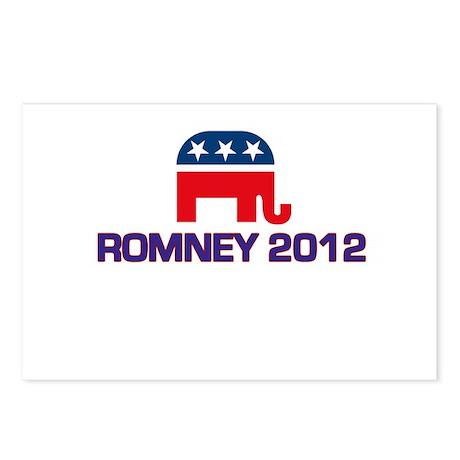 Romney 2012 Postcards (Package of 8)