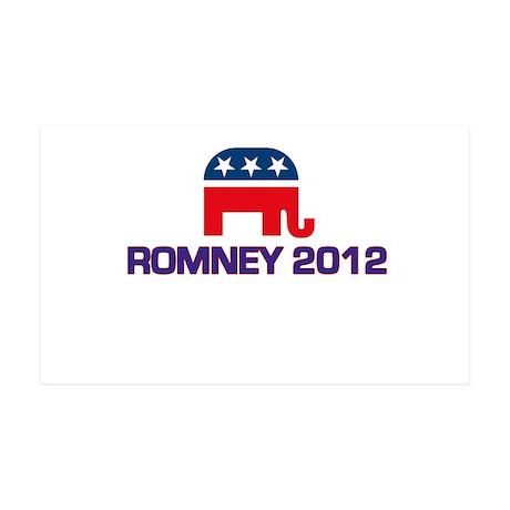 Romney 2012 38.5 x 24.5 Wall Peel
