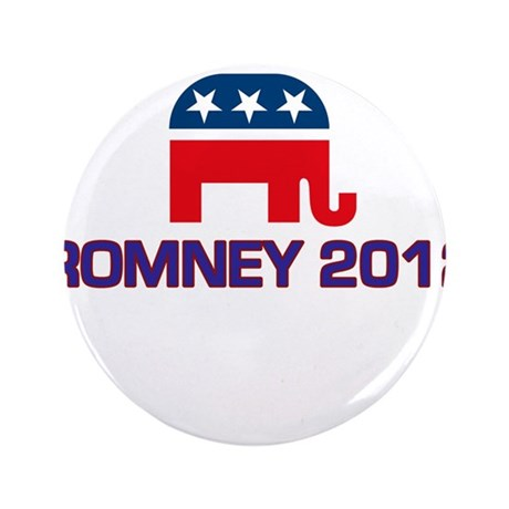 "Romney 2012 3.5"" Button"