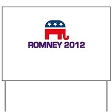 Romney 2012 Yard Sign