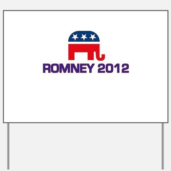 Romney 2012 Yard Sign