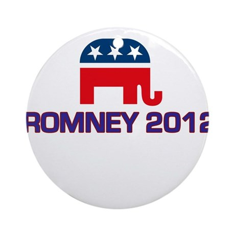 Romney 2012 Ornament (Round)