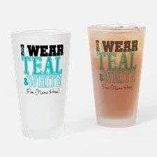 Custom Cervical Cancer Pint Glass