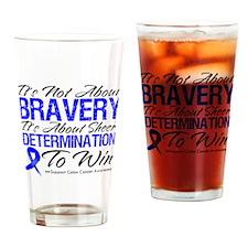 Bravery Win Colon Cancer Pint Glass