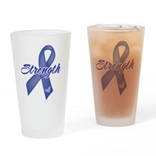 Strength - Colon Cancer Pint Glass