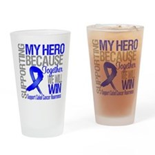 Support Hero Colon Cancer Pint Glass