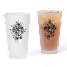 Faith Cross Bile Duct Cancer Pint Glass