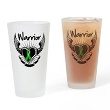 Bile Duct Cancer Warrior Pint Glass