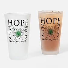 Faith Hope Liver Cancer Pint Glass