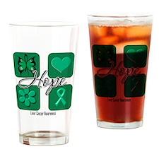 Hope Liver Cancer Pint Glass
