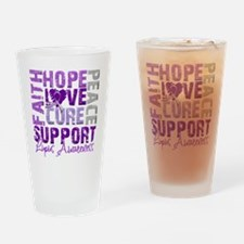 Hope Cure Lupus Pint Glass
