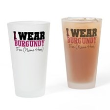 Custom Multiple Myeloma Pint Glass