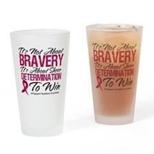 Multiple Myeloma Bravery Pint Glass