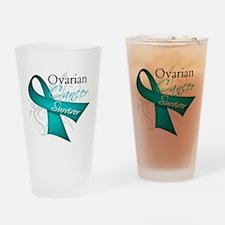 Ovarian Cancer Survivor Pint Glass
