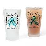 Ovarian Cancer Pint Glass