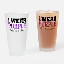 Custom Pancreatic Cancer Pint Glass