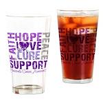Hope Pancreatic Cancer Pint Glass