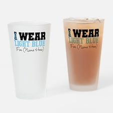 Custom Prostate Cancer Pint Glass