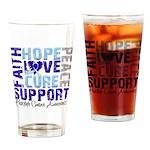Hope Prostate Cancer Pint Glass
