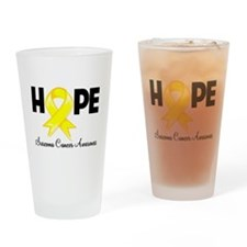 Hope Sarcoma Ribbon Pint Glass