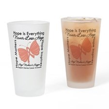 Hope - Uterine Cancer Pint Glass