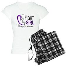 Fight Like A Girl Fibromyalgia pajamas