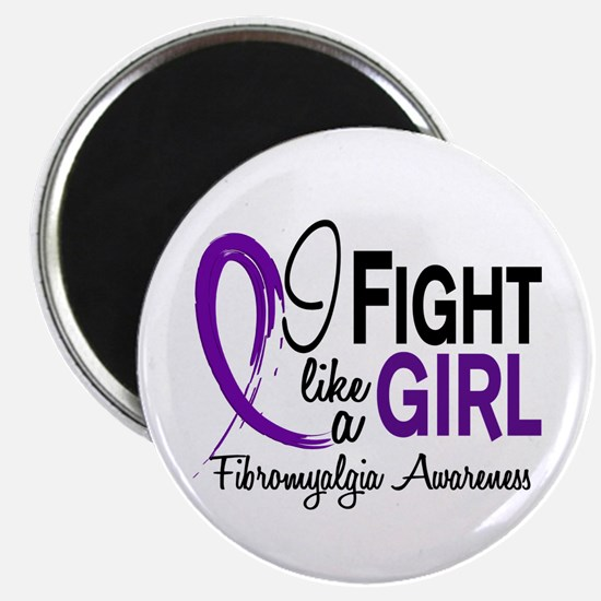 Fight Like A Girl Fibromyalgia Magnet