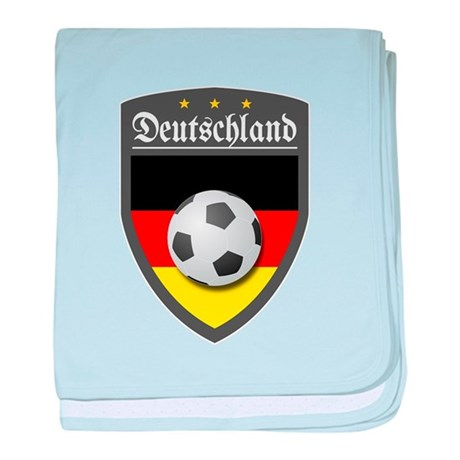 Germany (Deutsch) Ball baby blanket