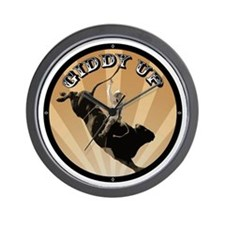 Giddy Up Wall Clock