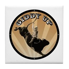 Giddy Up Tile Coaster