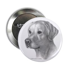 """Yellow Lab 2.25"""" Button (100 pack)"""